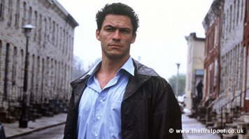Outtakes from Dominic West filming