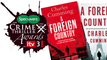 A Foreign Country wins the CWA Ian Fleming Steel Dagger